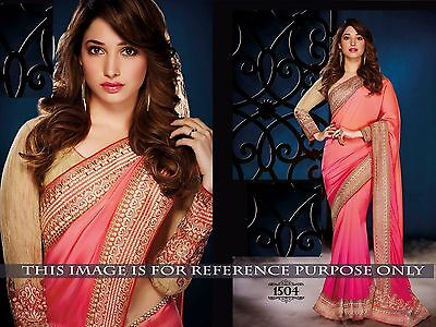 Bollywood Sari New creation Indian Party Wear  Bridal Wedding Pakistani Saree.