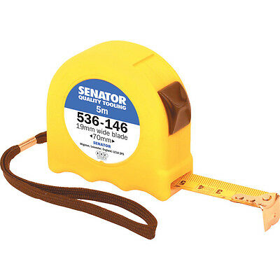 Senator 5M Hi-Vis Locking Tape - Yellow Case