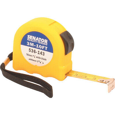 Senator 3M/10' Hi-Vis Locking Tape - Yellow Case