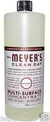 New Mrs. Meyers Clean Day Multi-Susrface Concentrate Hardworking Homekeeping