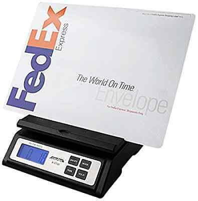 Accuteck Heavy Duty Postal Shipping Scale with Extra Large Display, Batteries an