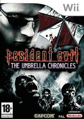 Resident Evil The Umbrella Chronicles Wii Nintendo jeu jeux games spellen 1661