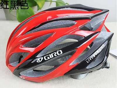 HOt Giro helmet bicycle road live strong unisex fit 56-62cm red+black