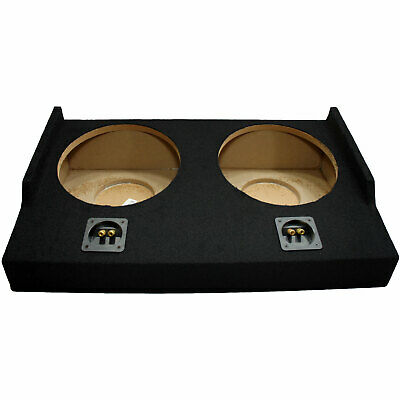"2015 - UP Ford F-150 Super Cab EXT Truck Dual 12"" Sub Box Subwoofer Enclosure"