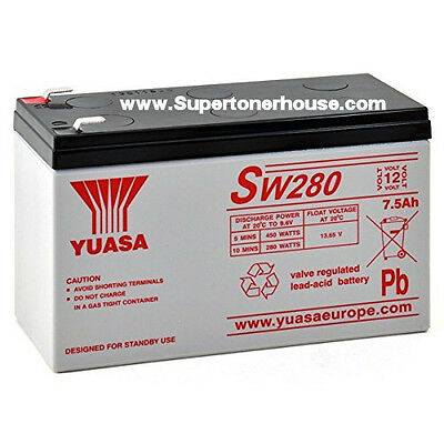 Batteria Piombo YUASA SW280 sostituisce NPW45-12  12V  9A  45W/Cell