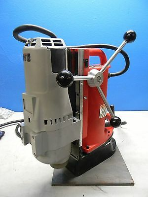 """Milwaukee 120V Electro Magnetic Drill Press with 1-1/4"""" Chuck Model #4209-1 used"""