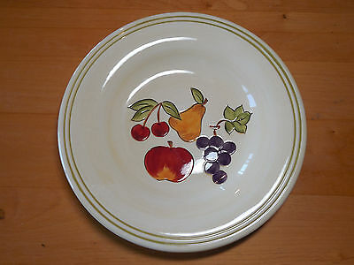 "Tabletops Unlimited Lifestyles SIMPLE FRUIT Dinner Plates 11""   3 available"