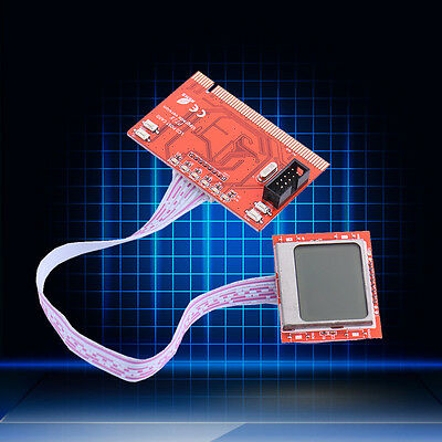 Laptop PC Mini PCI-E PCI LPC Motherboard Diagnostic Tester Analyzer Post Card
