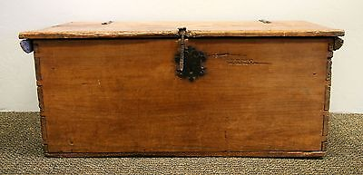 circa 1800 Spanish Colonial Blanket Chest, Ex Garry Shandling Collection