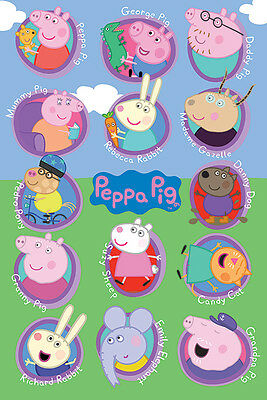 Peppa Pig (Multi Characters) Maxi Poster - 61cm x 91.5cm - PP33989 - 635