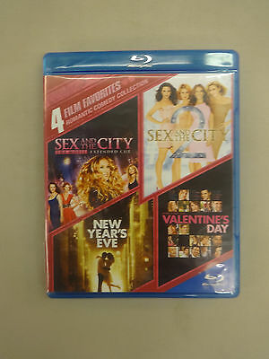 Romantic Comedy Collection: 4 Film Favorites (Blu-ray Disc, 2014, 4-Disc Set)