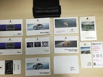 Porsche Boxster And S, 2008 Owners Manual Book / NAVIGATION /  / Free Shipping