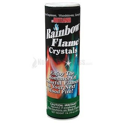 Rutland Fire Color Change Rainbow Flame Crystals Colorful Blue