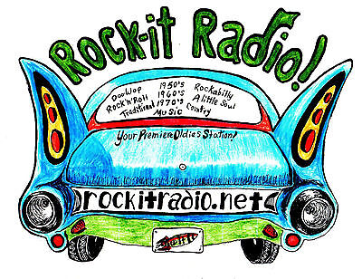 Rock-it Radio shows #5751 to #5800 on flashdrive mp3 = 70 hours of oldies Rock.