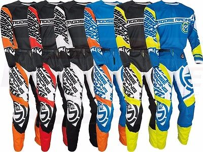 Moose Racing Qualifier Jersey&Pant Gear Set 30-54 Waist Combo Adult Size MX/ATV
