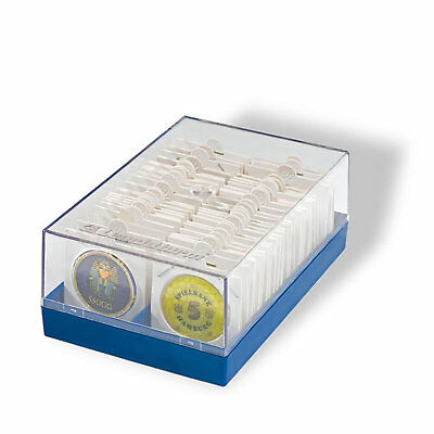 Lighthouse KR Box for 2 x 2 Coin Holders Fits 100 Holders - Perfect Storage