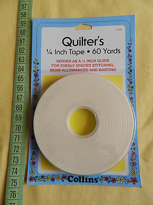 Quilter's 1/4 inch Tape - Single sided - 60 yards