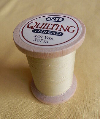 YLI - Yellow - 100% Cotton Hand Quilting Thread - 400yds