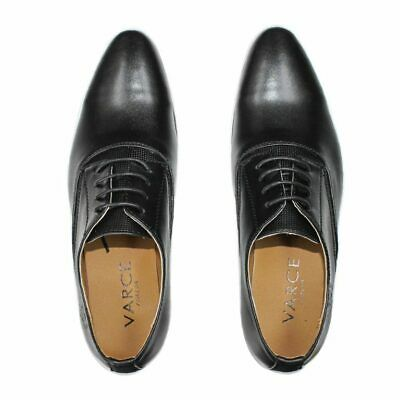 Jason Lace Up Black Shoes