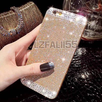 Luxury Glitter Crystal Diamond Sparkle Hard Back Case Cover For Samsung Galaxy