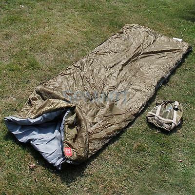 Army Military Portable Envelope Sleeping Bag Outdoor Travel Camping Hiking