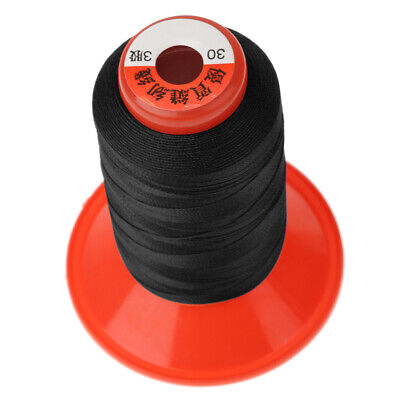 500M Bonded Nylon Sewing Thread for Upholstery Outdoor Boat Tent Canvas Black