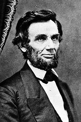 New 5x7 Photo: President Elect Abraham Lincoln just before Presidency, 1861