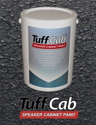 Tuff Cab Heavy Duty Speaker/Cabinet Paint - Black 5Kg