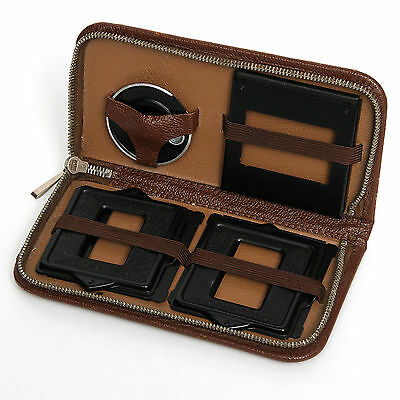 Rolleicord Rollei Va or Vb 24 Frame Adapter Kit in Faux Leather Case