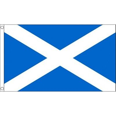 "8"" x 5"" Large Light Blue St Andrews Flag - 8x5 Scotland Scottish Region Country"