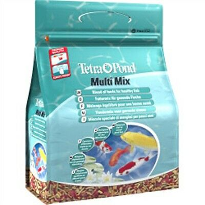 4l Tetra Pond Multimix Fish Food - Koi 760g Sticks