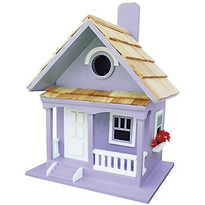 Lilac Cottage Garden Bird House - Bird Attract Wild Birds Sleeping Nesting Haven
