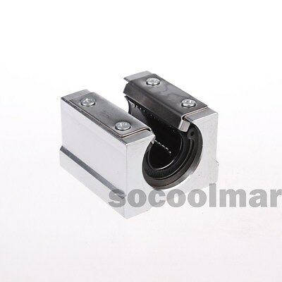 SBR16UU 16mm Aluminum Open Linear Motion Bearing Slide Unit for Linear Rail
