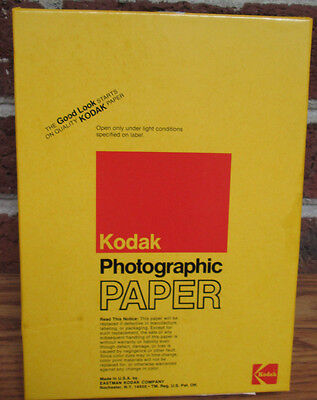 KODAK POLYCONTRAST RAPID 2 RC PROCESSING PAPER 100 sheets 5 x 7