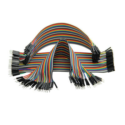 Dupont Male to Male Breadboard Jumper Wire Cable For Arduino TV (3*40pcs)