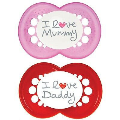 Mam Style Soother 6mth+ Girls Colours
