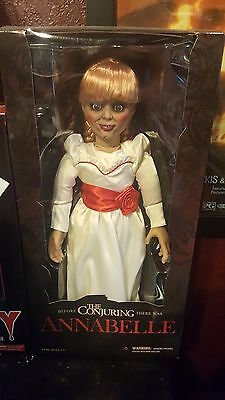 The Conjuring Annabelle 18-Inch Prop Replica Doll, Mezco