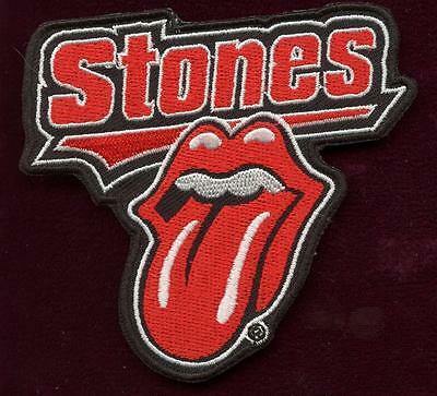 rolling stones  tongue PATCH  3 INCH tall IRON ON OR SEW ON