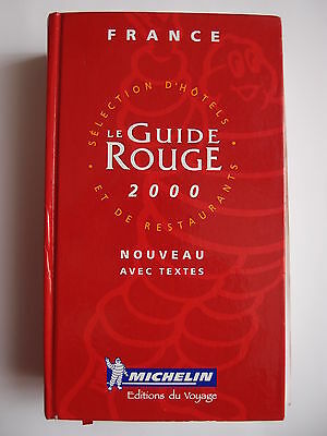 Guide Rouge Michelin 2000 France (ref1605)