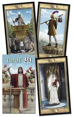 3D Grand Trumps Tarot Deck by Lo Scarabeo (English)