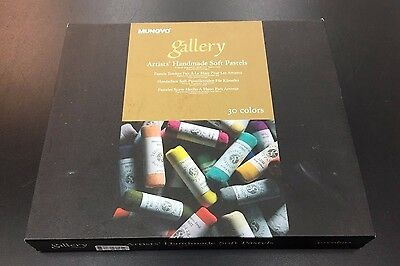 NEW Mungyo Professional Gallery Handmade Soft Pastel 30 Colors