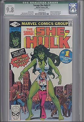 Savage She-Hulk #1  CGC 9.8  Marvel 1980 Comic Origin