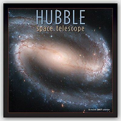 Hubble Space Telescope 2017 Square Wall Calendar- Astronomy Space Stars