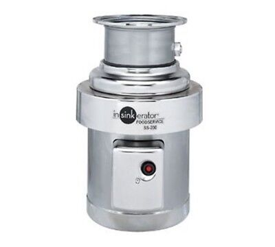 InSinkerator Disposer 2 HP trough SS-200-6-CC101