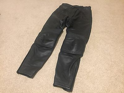 Woman's Richa Leather Motorcycle Trousers / Jeans - Never Worn