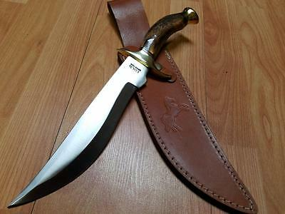 """Colt Marauder Bowie Fixed 14 1/2"""" Gen Stag Stainless Knife 812"""