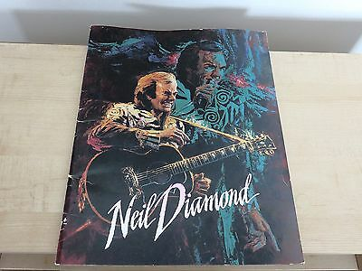 Hamilton ON   Neil Diamond Concert Program from 1993 with 2  Used Ticket Stubs -
