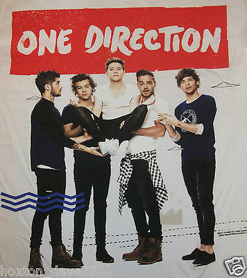 ONE DIRECTION Where We Are Tour 2014 T-Shirt with ZAYN MALIK Harry Styles  1D