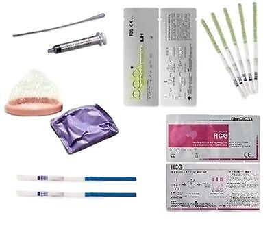 At Home Human Artificial Insemination Kit IUI ICI Pregnancy & Ovulation Tests