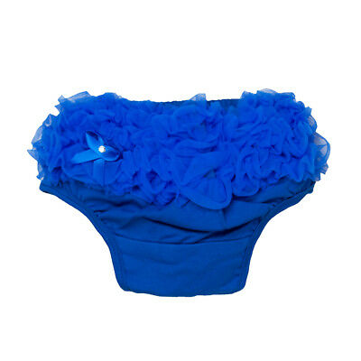 New 0-2Y Baby Girls Bloomers Panties Tutu Nappy Cover Ruffle Skirt Hot Pink